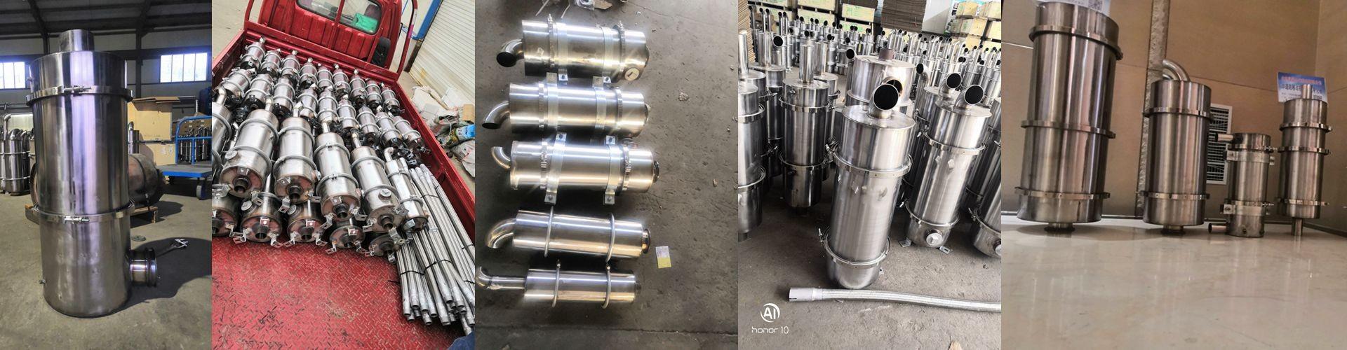 青岛农业机械尾气处理设备